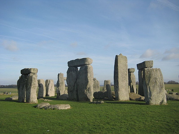 Stonehenge (photo from Wikimedia Commons in the public domain)