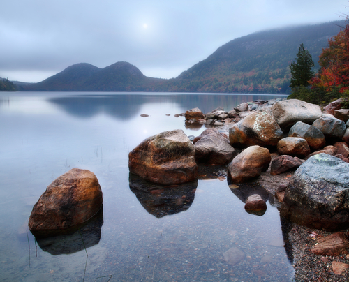 Jordan Pond, Acadia National Park (photo by Doug Lemke via Shutterstock)