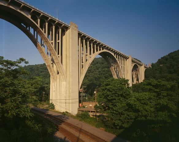 Westinghouse Bridge (photo by Joseph Elliott, Library of Congress)