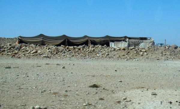 Bedouin black tent in Jordan (photo by Anita Gould, Cretve Commons license, Flickr)