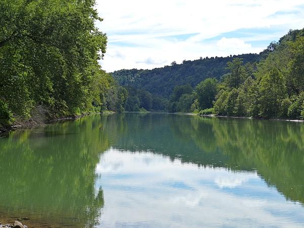 Kiskiminetas River at Roaring Run near Apollo, PA (photo by Kate St. John)