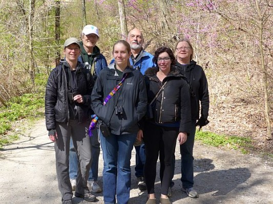 April outing in Schenley Park (photo by Kate St. John)