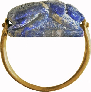 Scarab ring bezel, Walters Museum (photo from Wikimedia Commons)