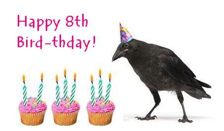 Happy 8th Bird-thday!