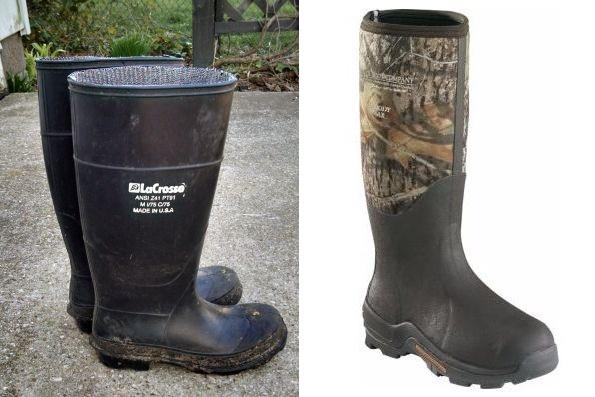 Boots: LaCrosse 13.5