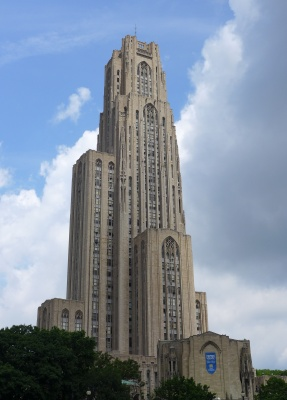 Cathedral of Learning (photo by Kate St. John)