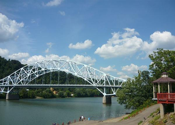 Elizabeth Bridge, Route 51, Allegheny County over the Monongahela River (photo from Wikimedia Commons)