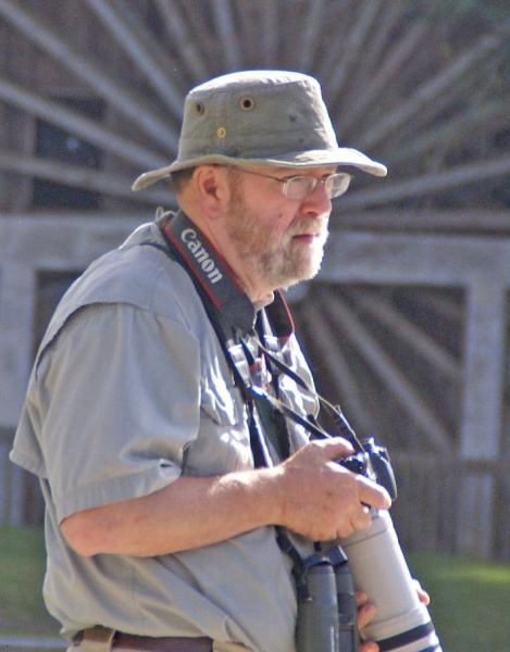 Chuck Tague, 2008 (photo by Bill Parker)