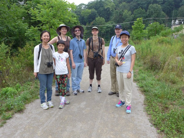 Outing to Duck Hollow and Nine Mile Run Trail, 31 July 2016 (photo by Kate St. John)