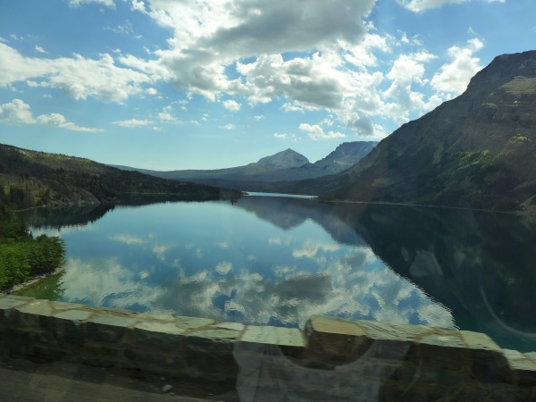 Saint Mary Lake seen from the west, 30 June 2016 (photo by Kate St. John)