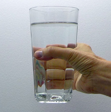 Glass of water (photo by Kate St.John)
