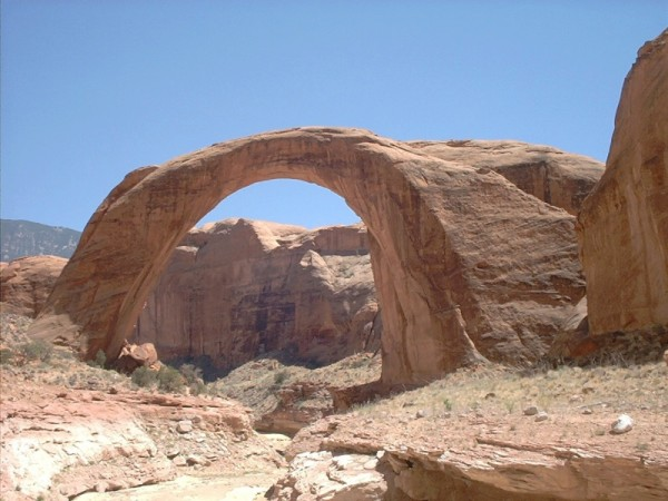Rainbow Bridge, Utah (photo from Wikimedia Commons)