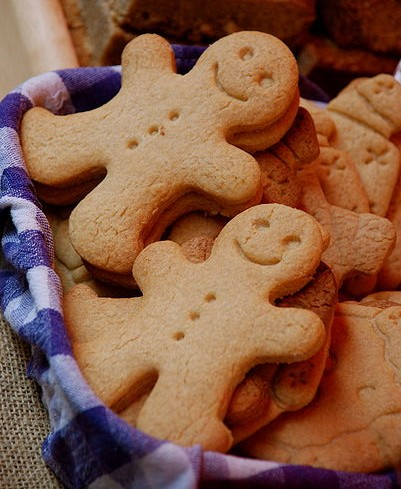 Gingerbread men (photo from Wikimedia Commons)