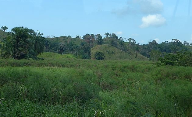 Subduction landscape along the Costanera Sur, vicinity of Quepos (photo by Kate St. John)