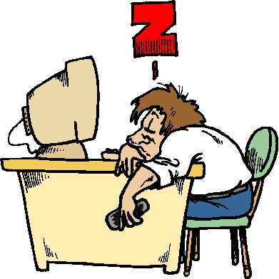 exhausted (from clipart-library.com)