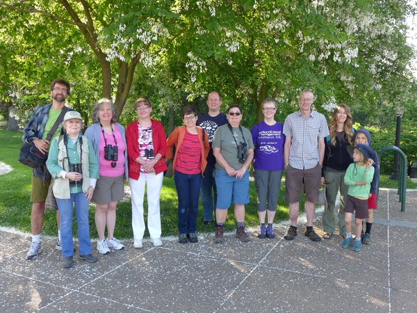 Schenley park outing, 21 May 2017 (photo by Kate St.John)