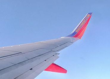 Wingtip on a jet, tip turned up to reduce wingtip vortex (photo from Wikimedia Commons)