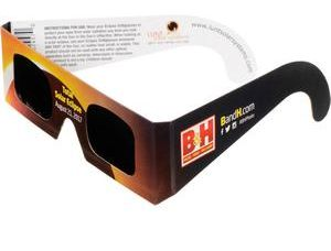 Lunt solar eclipse viewing glasses from B&H Photo