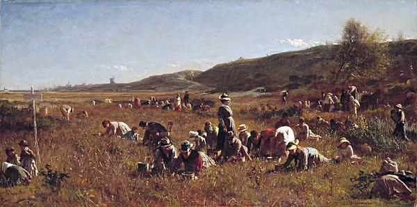 Jonathan Eastman Johnson: The Cranberry Harvest on the Island of Nantucket, 1880