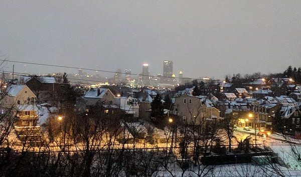 White Christmas in Pittsburgh, 2017