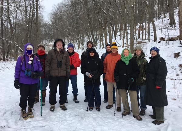 Botanical Society New Years Day Hike, 2018 (photo by June Bernard)