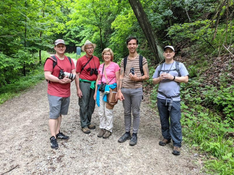 Schenley Park outing, 27 May 2018 (photo by Kate St. John)