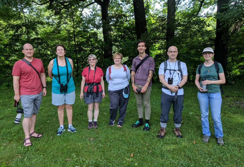 Schenley Park outing, 24 June 2018 (photo by Kate St. John)